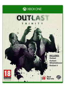 Outlast Trinity - Amazon (Xbox One) - £18.21 (prime)