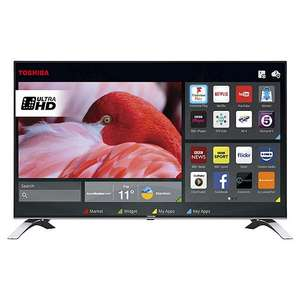 Toshiba 55U6663DB 55 Inch Smart 4K Ultra HD LED TV with Freeview Play £399.99 @ Tesco