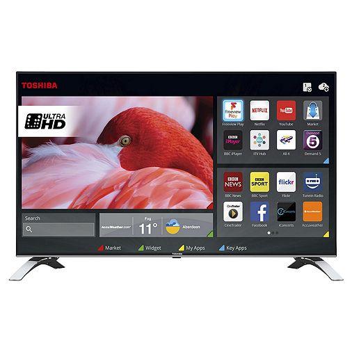 Toshiba 55U6663DB 55 Inch Smart 4K Ultra HD LED TV with Freeview Play £399.99 @ Tesco
