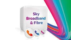 Sky Fibre Max £26.00 - Existing TV customers/New Broadband customers (18 month contracts - £468)