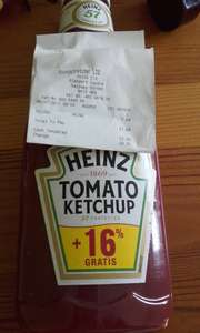 1kg (875ml) Heinz Tomato Ketchup £1.69 INSTORE at Poundstrecher