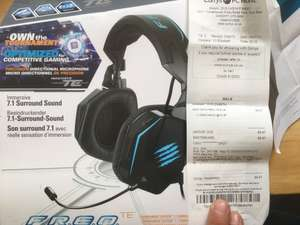 MADCATZ FREQ 7.1 GAMING Headset @ currys in store only  £9.97