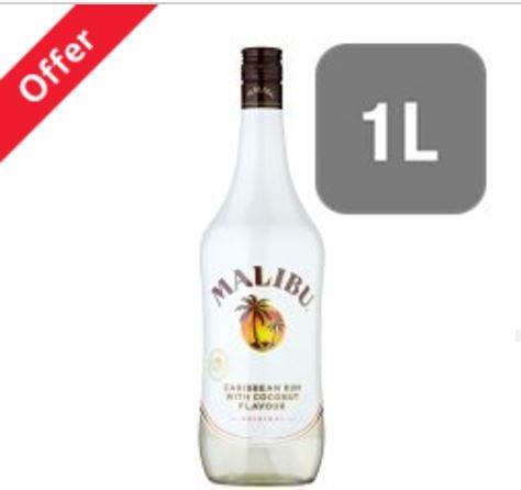 Malibu White Rum With Coconut 1L £14 Tesco instore