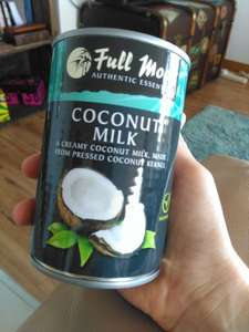 B&M Full Moon Coconut Milk 400ml 50p instore