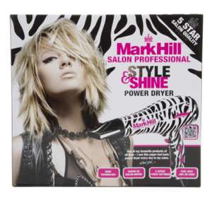 Mark Hill Zebra Print 2000w Power Dryer £12.99 delivered at Ebuyer