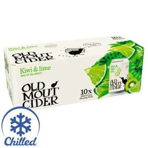 Glitch - Old Mout Cider Kiwi and Lime 6 crates (60 cans) for £24 or 4 for £16 @ amazon fresh and pantry