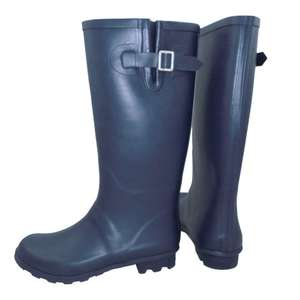 Verve Navy Wellington Boots Sizes 4,5,6,7,8,11 for £5 @ B&Q (Free C+C)