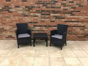 Keter Rosario Balcony Set graphite £60.00 instore at Morrisons
