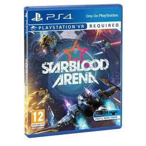 Starblood Arena VR PS4 £10 @ Smyths (In-store Only)