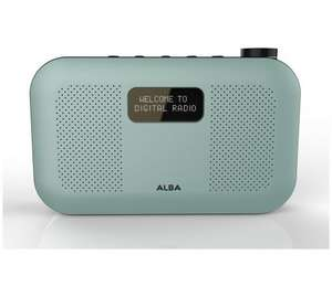 Alba DAB Stereo Radio Mint Colour - £24.99 @ Argos