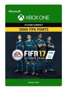 12,000 fifa 17 points xbox one £55 @ G2A