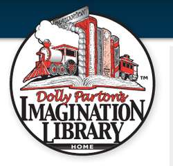 Free Books for Children ages Birth-5 every month (60 Books Total!) through the Dolly Parton imagination library.