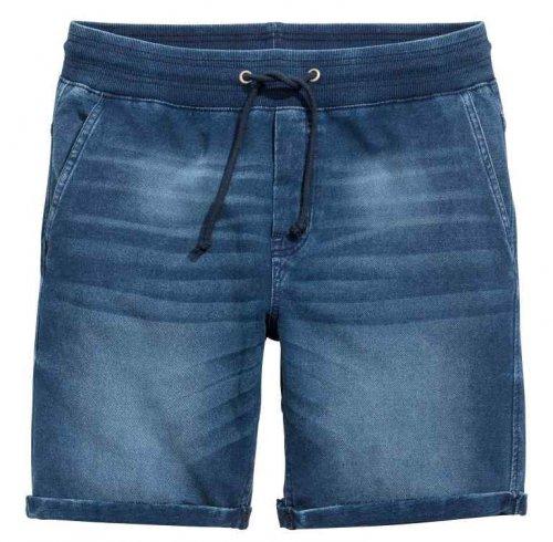 Denim-Look Sweatshirt Shorts £6.29 delivered using code @ H&M
