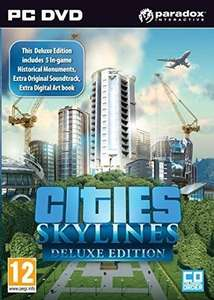 Cities: Skylines Deluxe Edition PC/MAC Steam Key £5.99 @ cdkeys (5% facebook for new users as well)