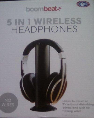 Boombeat 5 in 1 wireless headphone £1 instore @ B&M (Cheadle)