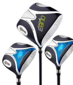 RAM QUB3 Pro Golf Woods - Set of Three RRP £389.97 £39.99 @ County Golf