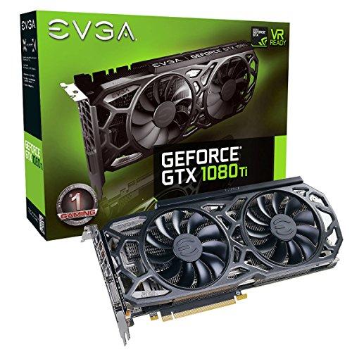 EVGA GeForce GTX 1080 Ti SC Black Edition GAMING £608.33 Del @ Amazon