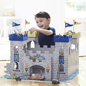 Universe of Imagination 2 in 1 Wooden Medieval Battle Castle + 34 Accessories half price now £34.96 Del @ Toys R Us (PLUS FREE Toy worth £10 today only)
