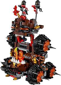 LEGO 70321 Nexo Knights General Magmar Siege Machine of Doom Construction Set (retired) better then half rrp £16.49 Prime Member Exclusive @ Amazon