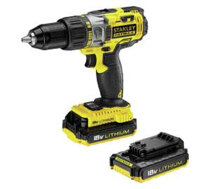 Stanley Fatmax 18v drill driver with 2x 2ah batteries £89.99 @ Argos