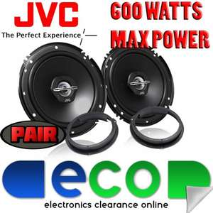 Ford Focus MK2.5 08-11 JVC 16cm 6.5 Inch 600 Watts 2 Way Rear Door Car Speakers £29.99  eco_uk / Ebay