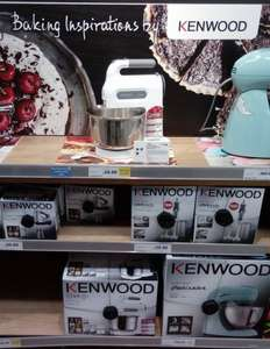 KENWOOD CHEFTETE MIXER STAND-Tesco INSTORE-£28