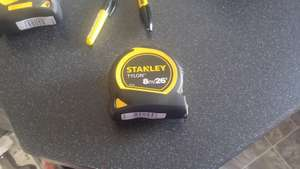 stanley 8m tape £4 @ Black and decker shop - Doncaster