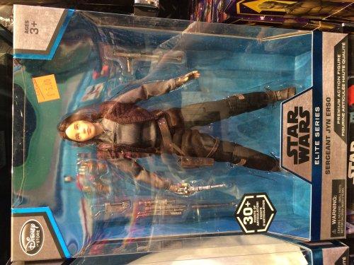 Jyn Erso Star Wars Figure for £5.00 @ Disney store Leeds