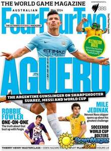 FourFourTwo magazine - 3 mags + free LED torch £1 @ Magazine.co.uk