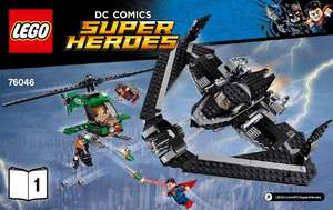 LEGO Super Heroes - DC Comics Heroes of Justice: Sky High Battle - 76046 RRP £54.99