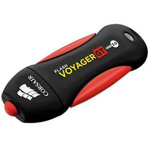 Corsair 128GB Flash Voyager GT USB 3.0 Flash Drive (Refurbished) 230MB/s Read  160MB/s Write  £21.35  mymemory with code