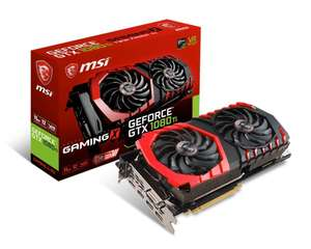 MSI NVIDIA GeForce GTX 1080 TI GAMING X GB PCI Express 3 Graphics Card - £649.99 on Amazon