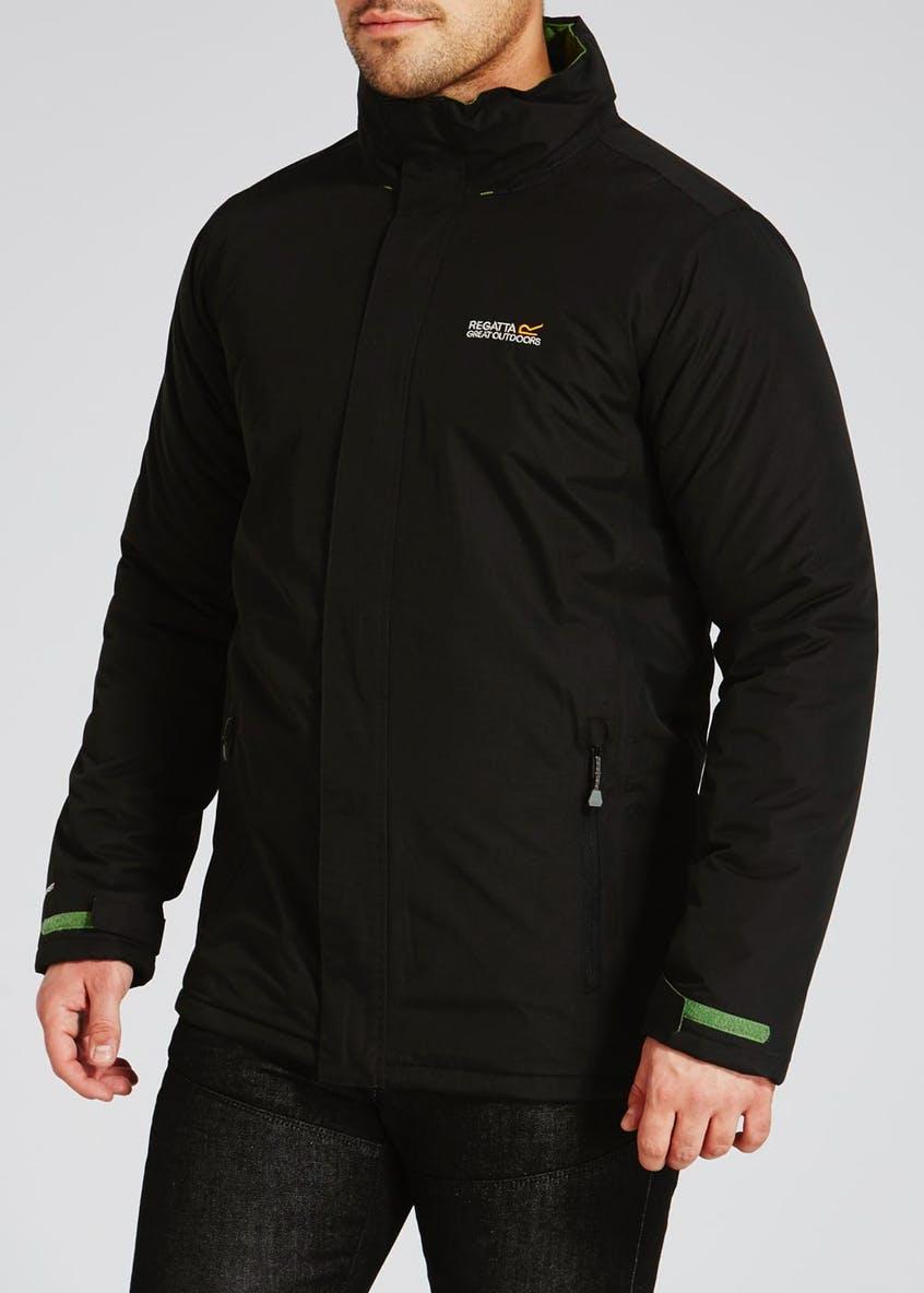 Mens Regatta Soft Touch Jacket, in Black sizes upto XXL, Now £6  @ Matalan (free c&c)