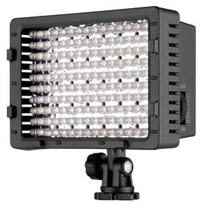 Neewer CN 160 LED Camera / Camcorder Video Light. £21.28 @ Sold by iTekLife Global and Fulfilled by AmazonLightning Deal