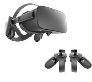 Oculus Rift + Touch Controllers + Xbox One Pad + Games - £398.99 (£395.80 via Quidco/TCB) @ Currys *GLITCH - £320ish?*