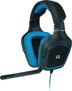 Logitech G430 Gaming Headset with 7.1 Dolby Surround for PC and PS4 £28.99 @ Amazon