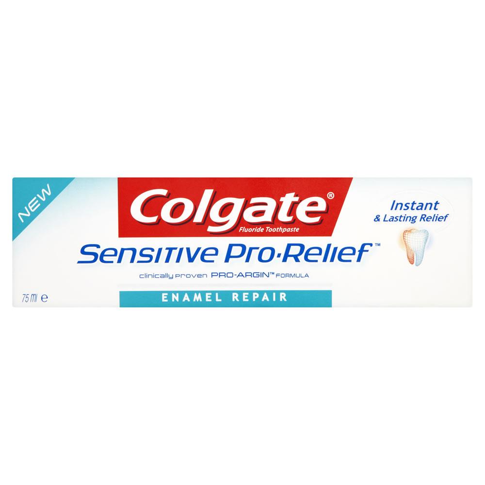 Colgate Toothpaste Pro Relief Enamel Repair £1.75 Wilko