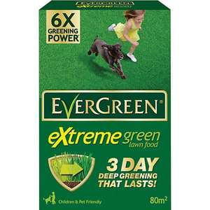 Evergreen Extreme Green Carton 2.80kg 80m2 £1.99 - Wickes instore