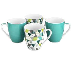 Set of 4 Mugs £4.99 @ Argos