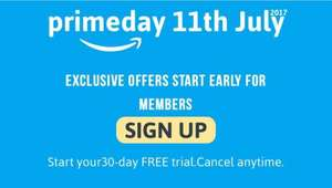 Amazon Prime (start your 30 day FREE trial. Cancel anytime) - New members only