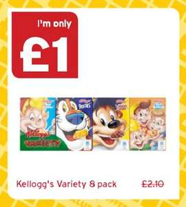Kellogg's Variety Pack - £1 @ One Stop