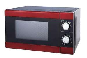 Tesco Red Microwave: Reduced to clear £13 Forge Glasgow