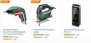 Bosch tools - 40% - Deal starts at 18:00 GMT @ Amazon