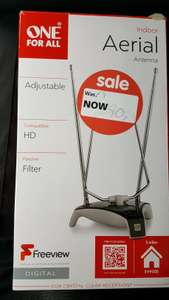 One For All SV9305 Freeview Indoor Aerial £0.90 @ Asda Instore