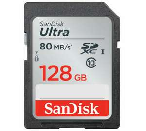 SanDisk 128GB 80mbps card - £12.00 Instore @ Tesco Askham Bar