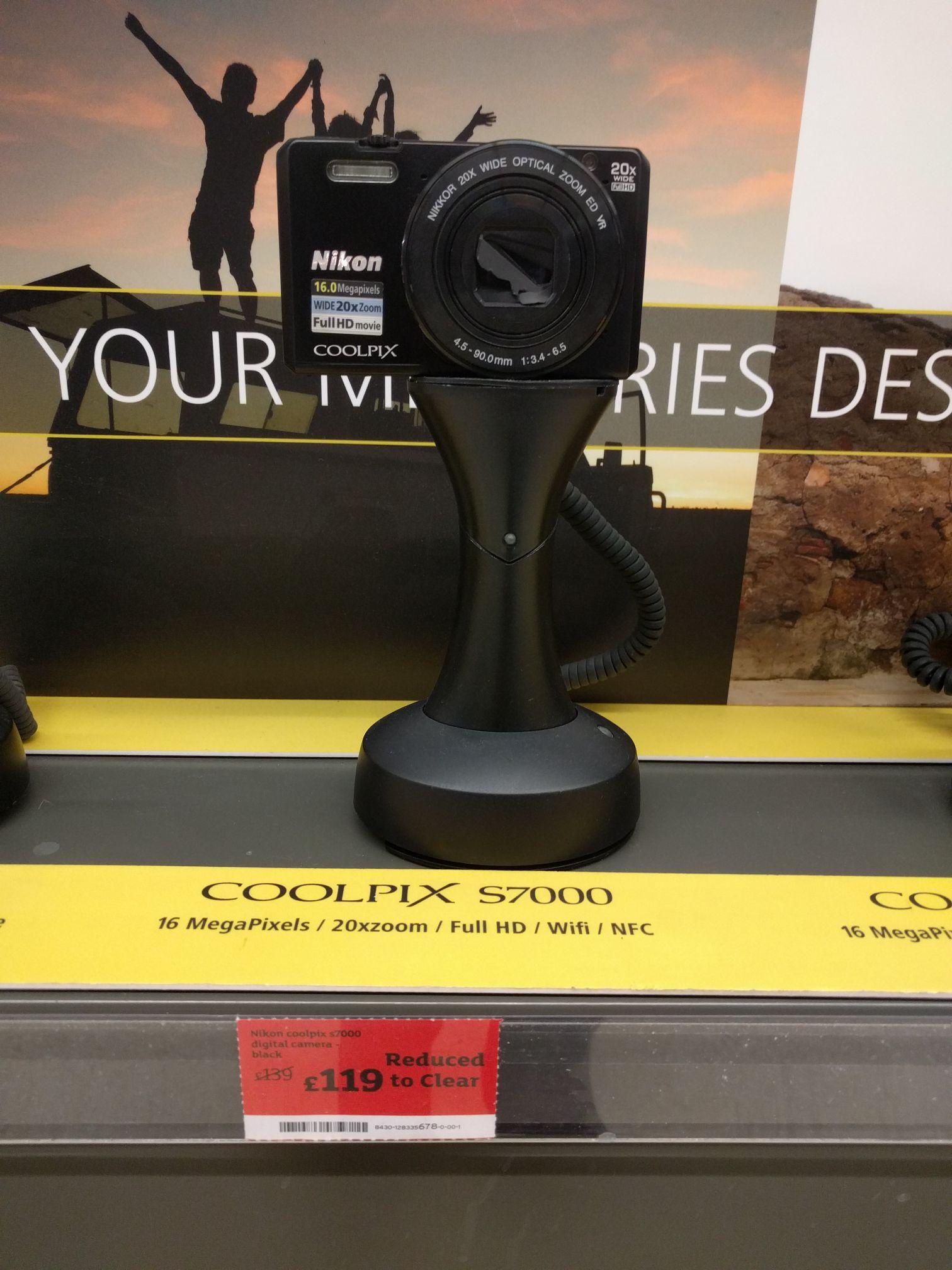 Nikon Coolpix S7000 - £119 instore @ Sainsbury's Whitechapel