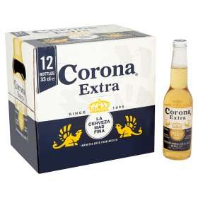Corona Extra 12x330ml Was £13 Now £11 + Free Complimentary Ice Bucket Worth £4