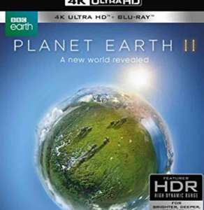 Planet Earth II 4K Ultra HD plus Bluray £19.99 from Amazon (Prime Day)