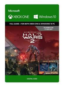 Halo Wars 2: Ultimate Edition (digital, PC & Xbox One) only £24.99 @ amazon