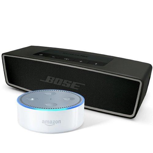 Bose SoundLink Mini II + Echo Dot £149 / Bose SoundTouch 10, Black + Echo Dot £149 @ Amazon